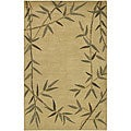 Set of 2 Hand-knotted Karur New Zealand Wool Rugs (2&#39; x 3&#39;)