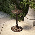 Christopher Knight Home 31 x 13.75 Dia Sol Gold-finished Cast Aluminum Copper Sun Dial