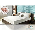 Sarah Peyton Convection Cooled Soft Support 8-inch Queen-size Memory Foam Mattress