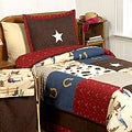 Sweet JoJo Designs Wild West Cowboy 4-piece Twin-size Comforter Set