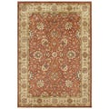 Hand-tufted Sabrina Rust New Zealand Wool Rug (8&#39; x 10&#39;)