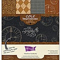 Darice Core Impressions Graphic 45 12x12-inch Embossed Cardstock