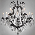 Regent Iron 12-light Chandelier