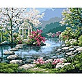 Paint By Number 'Japanese Garden' Kit