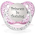 Personalized Pacifiers Princess in Training Pacifier