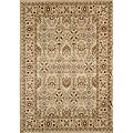 Power-Loomed Preston Garden Ivory Rug (5&#39;3 x 7&#39;6)