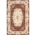 French Empire Hand-tufted Wool Rug (3'6 x 5'6)