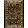 Westminster Brown Kashan Rug (9'10 x 13'6)