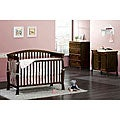 DaVinci Thompson 4-in-1 Crib with Toddler Rail in Coffee