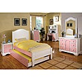 Ailia 3-piece Full-size Platform Bed Set with Night Stand and Trundle