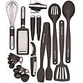 KitchenAid Black 17-piece Kitchen Tool &amp; Gadget Set