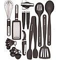 KitchenAid Black 17-piece Kitchen Tool & Gadget Set