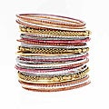 NEXTE Jewelry Stackable Bracelet Set
