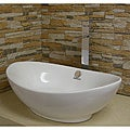 Vitreous China White Vessel Sink