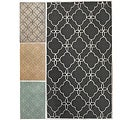 Rug Collective Handmade Indoor / Outdoor Lattice Trellis Rug (5' x 8')