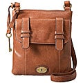 Женские сумки Carson Top Zip Crossbody; от Fossil; Цвет SADDLE.