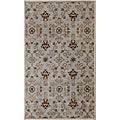Hand-tufted Ashwood/ Ivory Wool Rug (9&#39;6 x 13&#39;6)