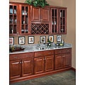 Wall Mullion Door 18-inch Cabinet