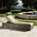 Resort Collection Weathered Grey Outdoor Chaise Lounger