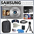 Samsung DV300F DualView 16MP Digital Camera with 16GB Kit