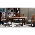Julia Extension Cocoa Finish 7-piece Dining Set