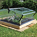 Palram Cold Frame Double 3&#39; x 3&#39; Mini Greenhouse
