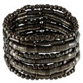 Black Beaded Multi Stand Bangles (India)