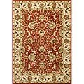 Alliyah Hand Made Soft Red New Zeeland Wool Rug (5&#39; x 8&#39;)