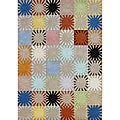 Alliyah Handmade Multicolored New Zealand Blend Wool Rug (8' x 10')