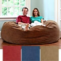 6-Foot Comfort Cloud Foam Bean Bag