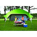 Fast Set Instant Pop Up Wing Canopy with Adjustable Rear Wall (10' x 10')