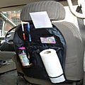Black Back Car Seat Organizer/ Storage Bag
