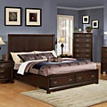 Cappuccino Finish Bed with Storage