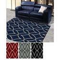 'Ashley' Diamond Design Contemporary Area Rug (3'3 x 4'11)