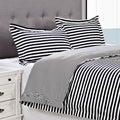 Keystone Cotton 300 Thread Count 3-piece Duvet Cover Set