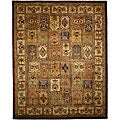 Handmade Classic Bakhtieri Multicolored Wool Rug (9&#39;6 x 13&#39;6)