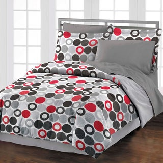 Reinforcements 4-piece Comforter Set with Bedskirt