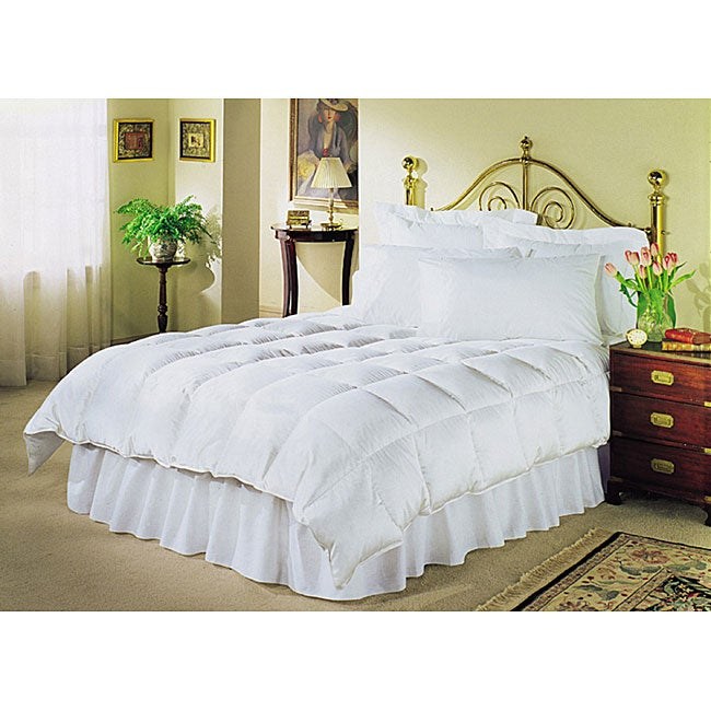 White 230 Thread Count Down Alternative Comforter