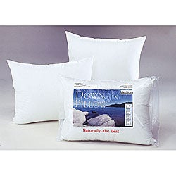 White Cloud Medium Density Down Pillow