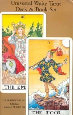 Universal Waite Tarot Deck and Book Set (Paperback)