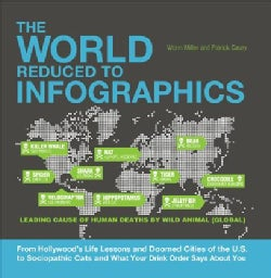 The World Reduced to Infographics: From Hollywood's Life Lessons and Doomed Cities of the U.s. to Sociopathic Cat... (Paperback)