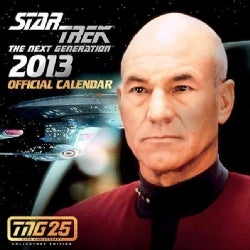 Star Trek: the Next Generation Official 2013 Calendar: Tng 25th Anniversary Edition (Calendar)