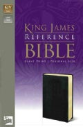 Holy Bible: King James Version Reference Giant Print Black Leather-look (Paperback)