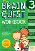 Brain Quest Workbook Grade 3 (Paperback)