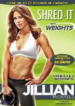 Jillian Michaels: Shred-It With Weights (DVD)