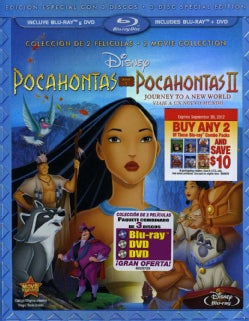 Pocahontas & Pocahontas II: Journey To A New World (Special Edition) (Spanish Package) (Blu-ray Disc)