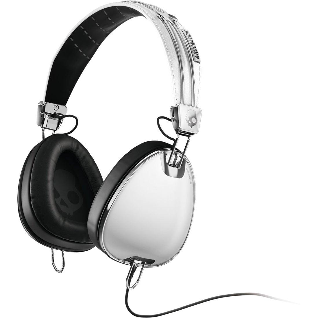 Skullcandy Aviators Over-Ear Headphones (White)