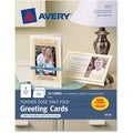 Avery Feather Edge Half-Fold Greeting Card