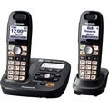 Panasonic Cordless Phone - 1.90 GHz - DECT 6.0 - Metallic Black