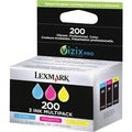 Lexmark 200XL Ink Cartridge - Cyan, Magenta, Yellow